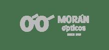 Morán Ópticos logotipo