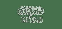 Parrilla Cuarto y Mitad logotipo