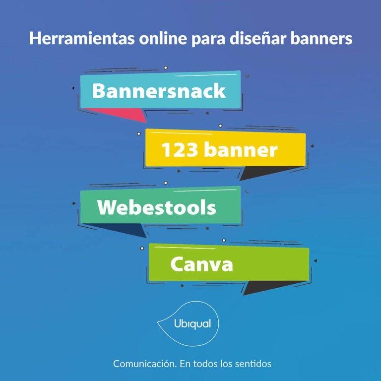 Herramientas online para diseñar banners