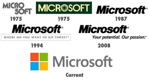 cambio logo microsoft